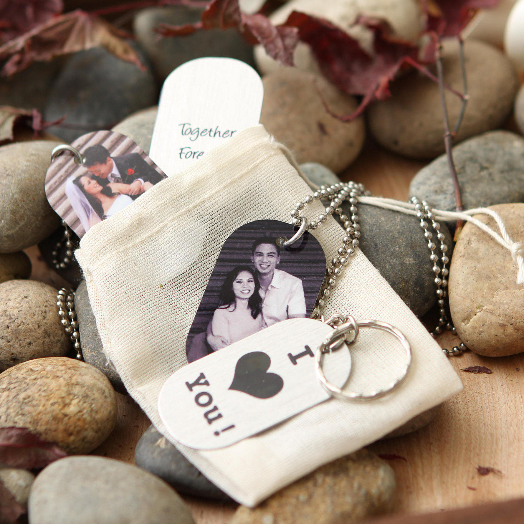 photo dog tag necklace personalized dog tag key chain muujee