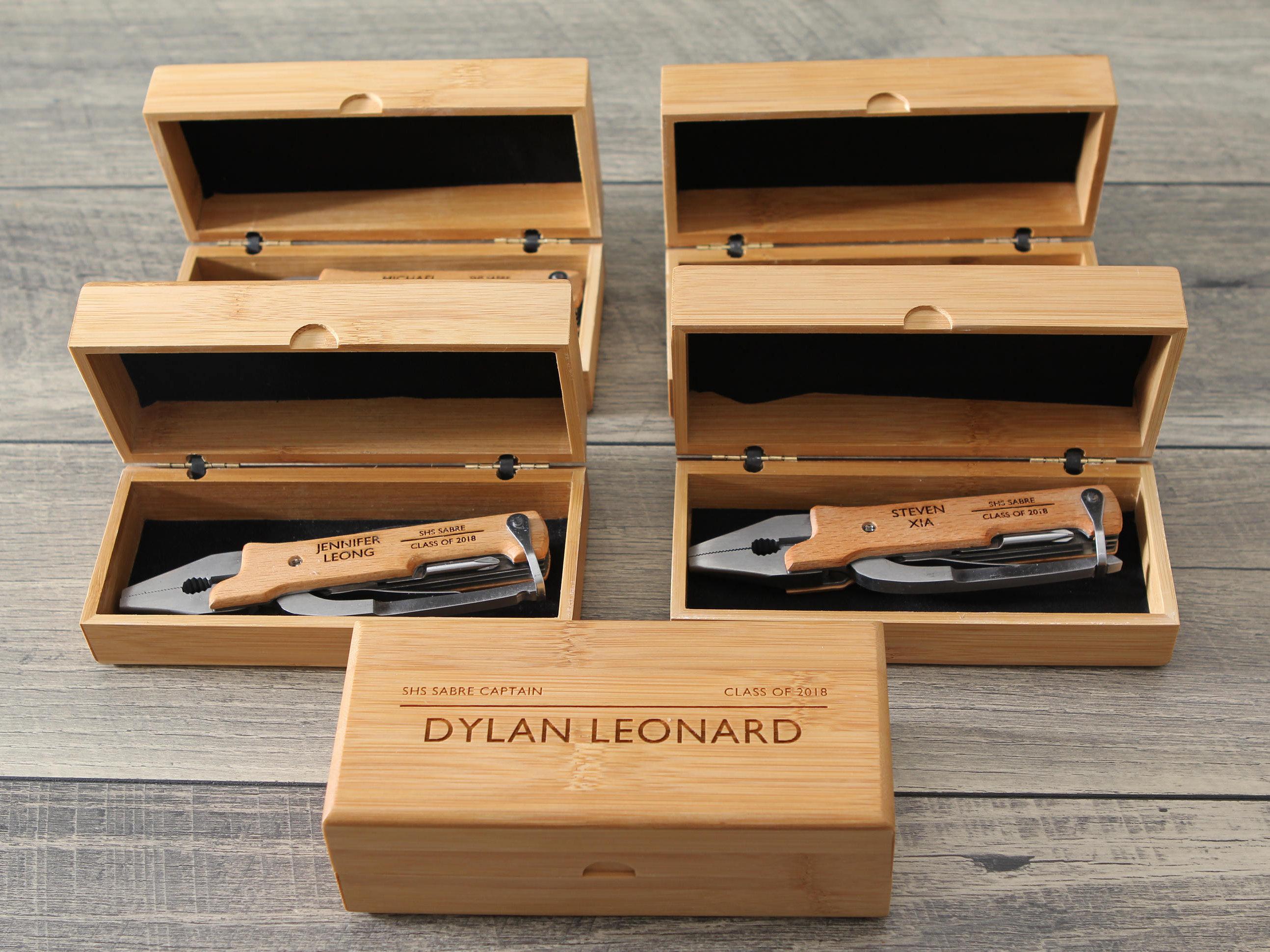1 & 5-PACK Personalized Multi Tool u2013 Custom Engraved Pocket Knife Pliers ...