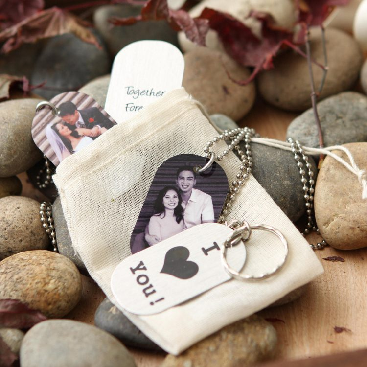 Photo Dog Tag Necklace – Personalized Dog Tag Key Chain