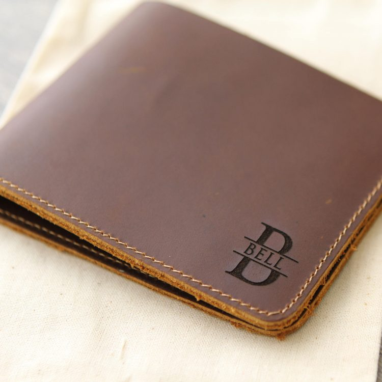 Personalized Wallet – Engraved Leather Wallet