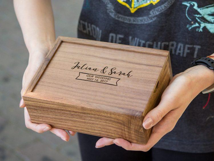 """4×6"""" Wood Memory Box"""