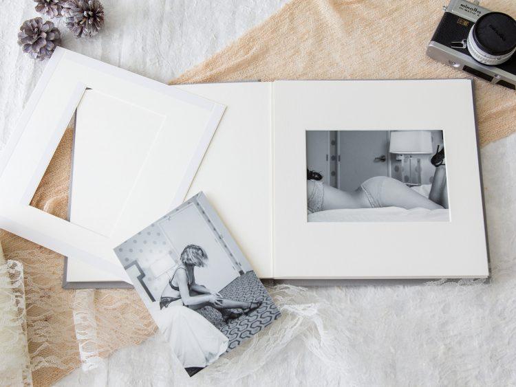 DIY Slip-In Matted Photo Album
