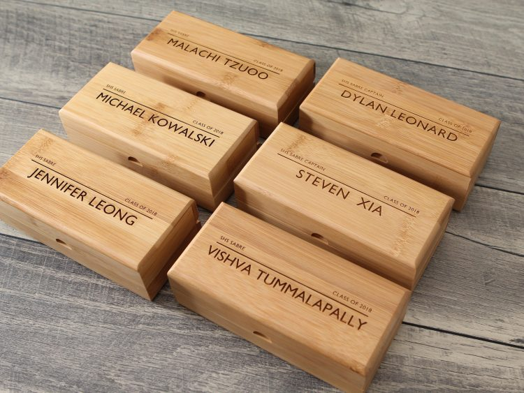 Personalized Bamboo Gift Box Only