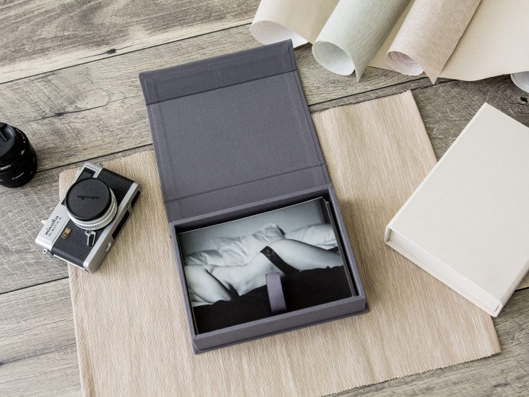 "5×7"" Linen Photo Proof Box"
