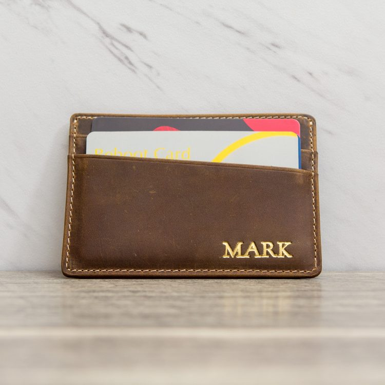Personalized Card Holder Wallet
